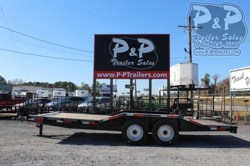 2019 P and P PPEQ20X102HDSRDOF 20 ft Utility Trailer