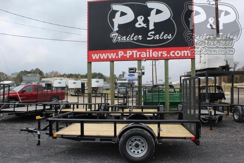 2020 P and P PPSA10X60LDRGPT 60 x 10 ft Utility Trailer
