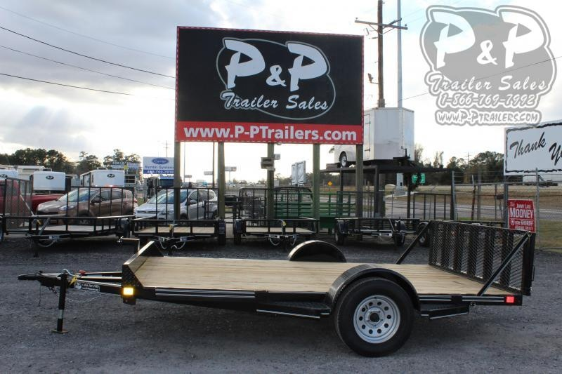 2020 P and P PPEQ12x83LDTG 83 x 12 ft Utility Trailer