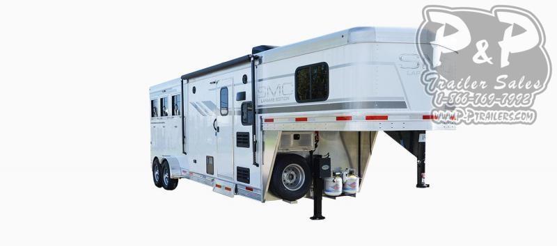 2020 SMC Horse Trailers SLX8FK LARAMIE 3 Horse Slant Load Trailer 8 FT LQ With Slides