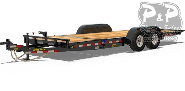 2019 Big Tex Trailers 10TL-20 Tilt Equipment Trailer