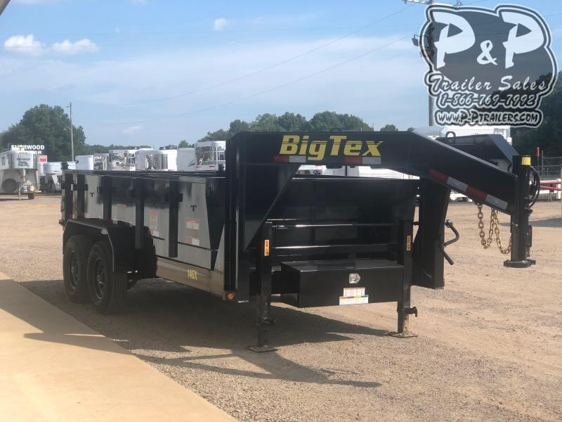 2019 Big Tex Trailers 14GX 14 14 ft Dump Trailer