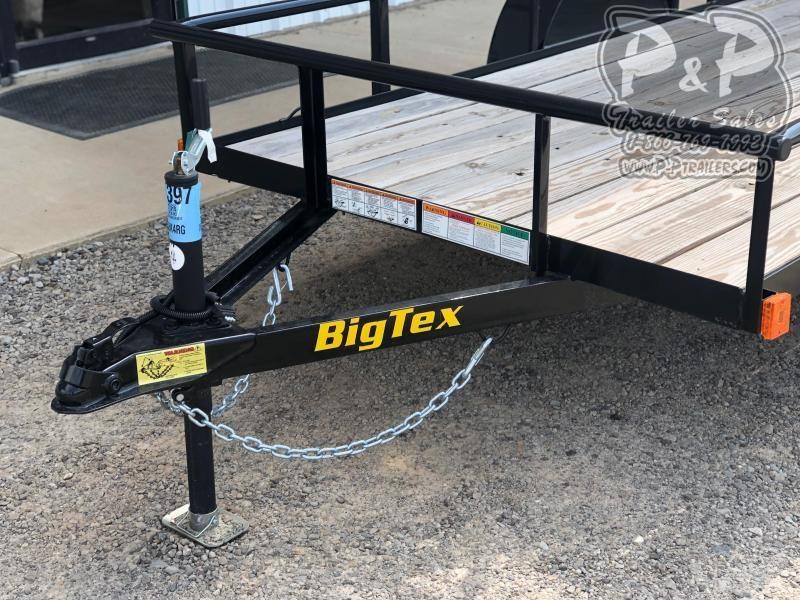 2020 Big Tex Trailers 30ES-10BK4RG 10 ft Utility Trailer