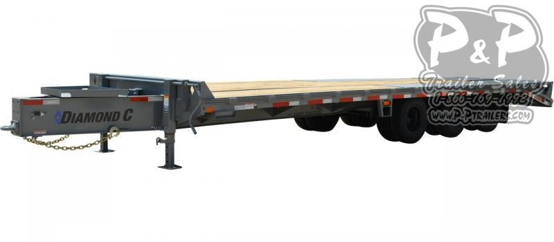 2020 Diamond C Trailers PX310 Pintle Hitch Equipment Trailer