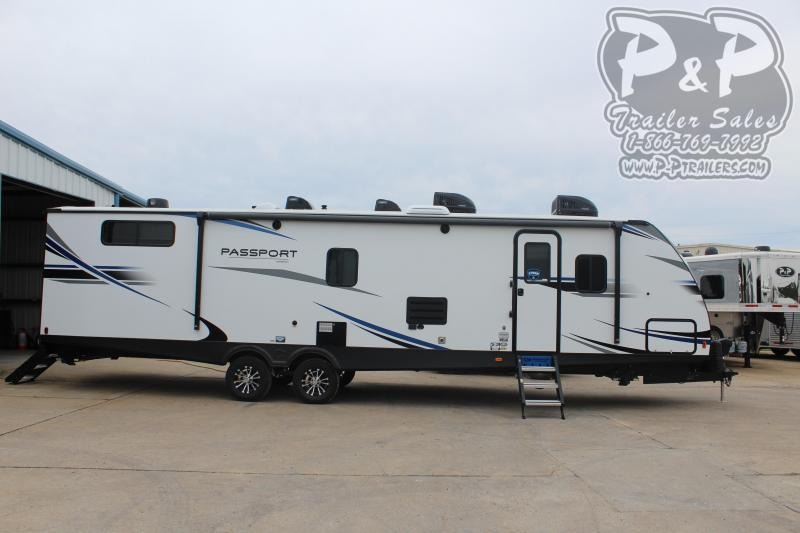 "2020 Keystone Passport 3400QD 38' 4"" ft Travel Trailer RV"