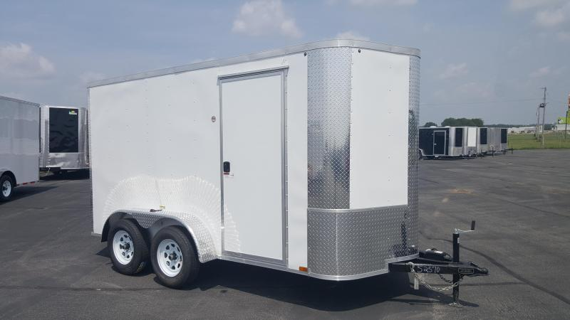 "*ON SALE* 2018 Arising 6X12VTRW Enclosed Cargo Trailer 6"" Additional Height"