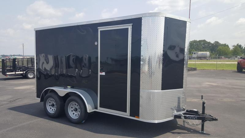"*ON SALE* 2018 Arising 6X12VTRB Enclosed Cargo Trailer 6"" Additional Height"