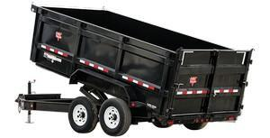PJ Low Pro High Side Dump Trailer (DM)