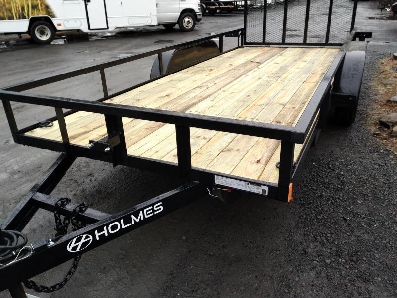 Holmes R6X12R7K Utility Open Landscape Trailer
