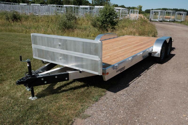 Legend Trailer Aluminum Open Car Hauler 7X16OCH