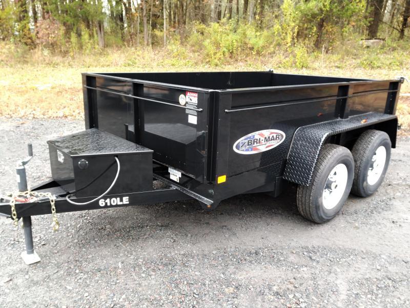 2020 BriMar DT610LP-LE-10  Dump Trailer