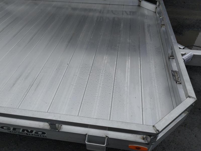 Legend Open ATV Aluminum Tilt Trailer 7 x 12