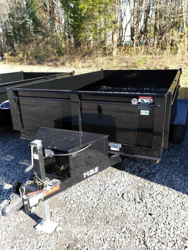 2020 BriMar DT712LP-LE-12  Dump Trailer