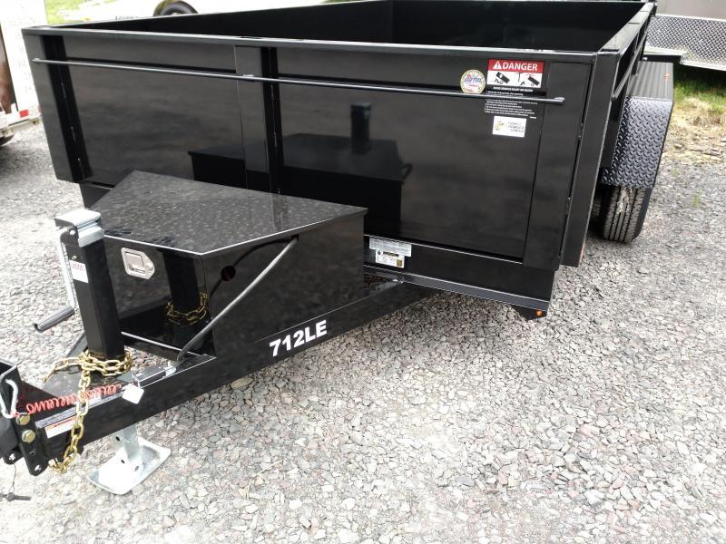 BriMar DT712LP-LE-10  Dump Trailer