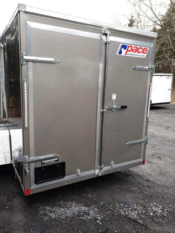 Pace American Outback  Enclosed Cargo Trailer 6 x 12