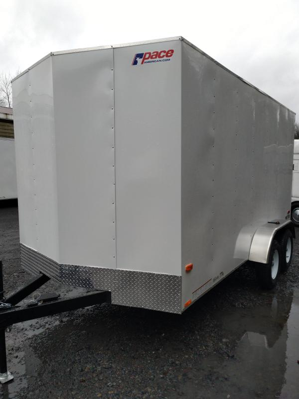 PACE Metro Enclosed Trailer 7 x 14