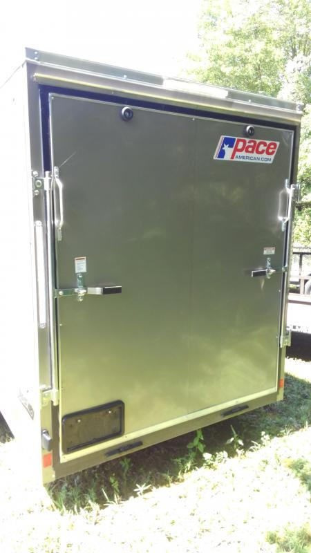 2020 Pace American Journey 6 x 12 Se Cargo Flat Top Cargo / Enclosed Trailer