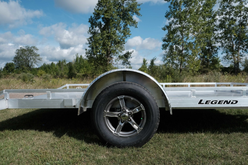 Legend Open Aluminum Tilt Trailer 7 x 12