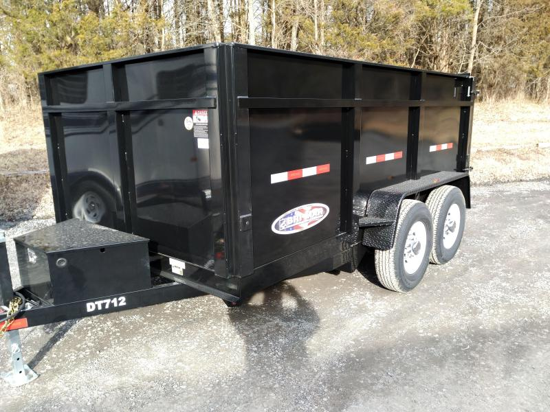 BriMar DT712LP-12  Dump Trailer