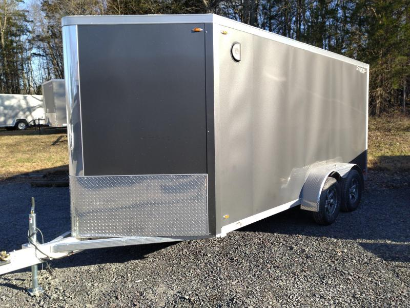 Legend Trailers 717FTVTA35 Aluminum Enclosed Cargo Trailer