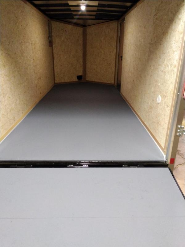 Pace American Journey SE Enclosed Motorcycle Trailer 7 x 16