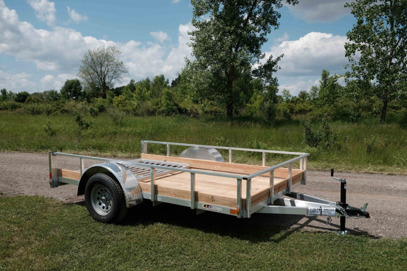Legend Open Aluminum Utility Motorcycle Trailer 6 x 12