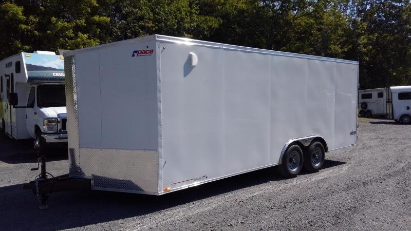 2020 Pace American Journey Se Cargo 10000 Gvw Cargo / Enclosed Trailer 8.5 x 20