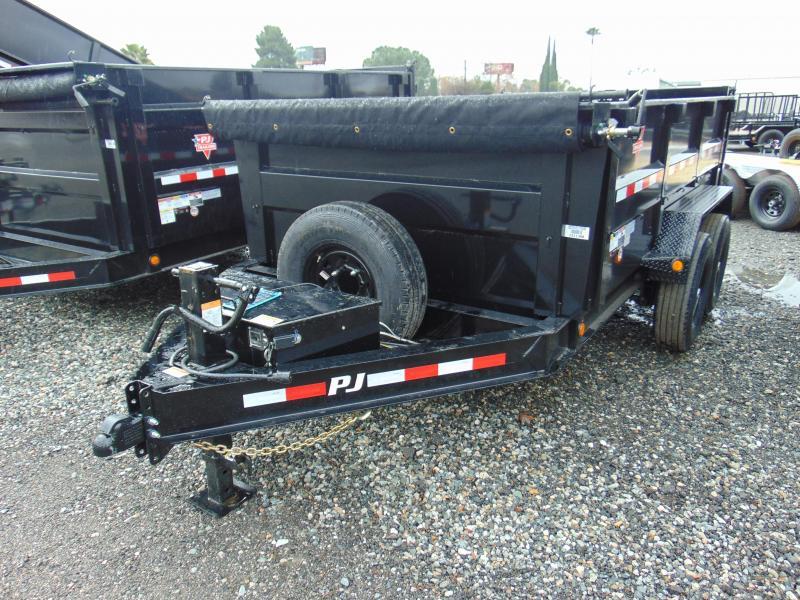 2019 PJ Trailers 83 Low Pro High Side Dump (DM) Dump Trailer