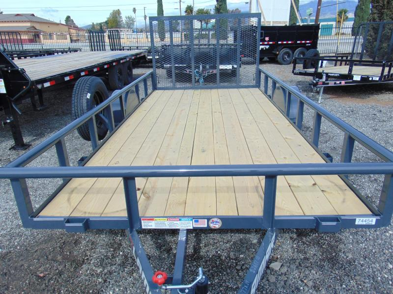 2019 Lamar Trailers 77X14 SINGLE AXLE Utility Trailer