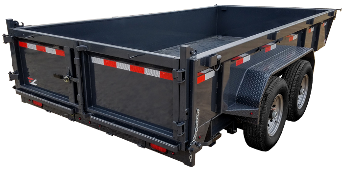 2019 Lamar Trailers Low-Pro Dump Trailer (DL)