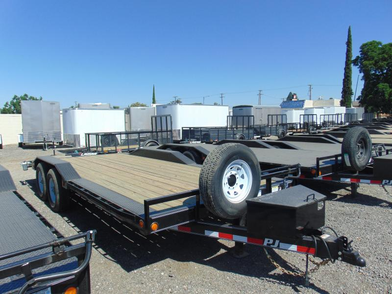 2019 PJ Trailers 102X20 Buggy Hauler Car / Racing Trailer