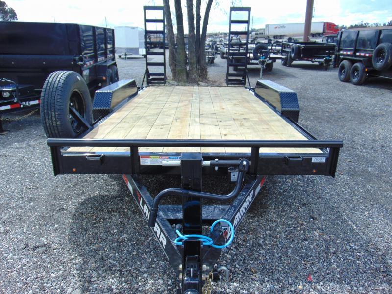 2019 Lamar Trailers 83X14 Tandem Axle Equipment Trailer