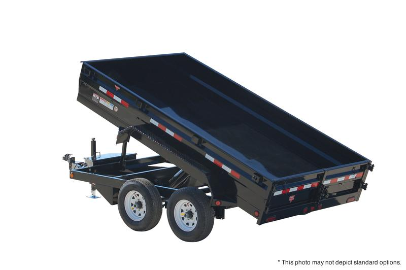 "2019 PJ Trailers 12' x 78""  Medium Duty Dump Trailer"