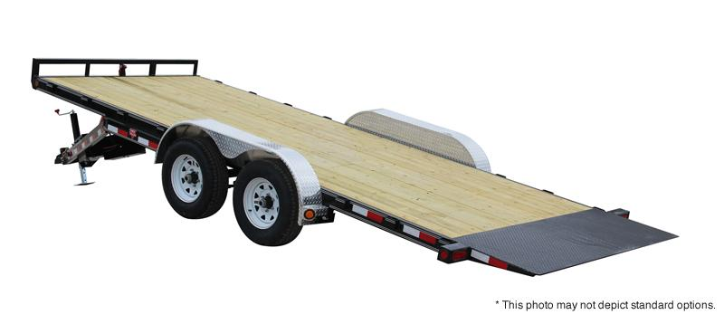 "2019 PJ Trailers 18' x 83"" Hydraulic Quick Tilt Trailer"