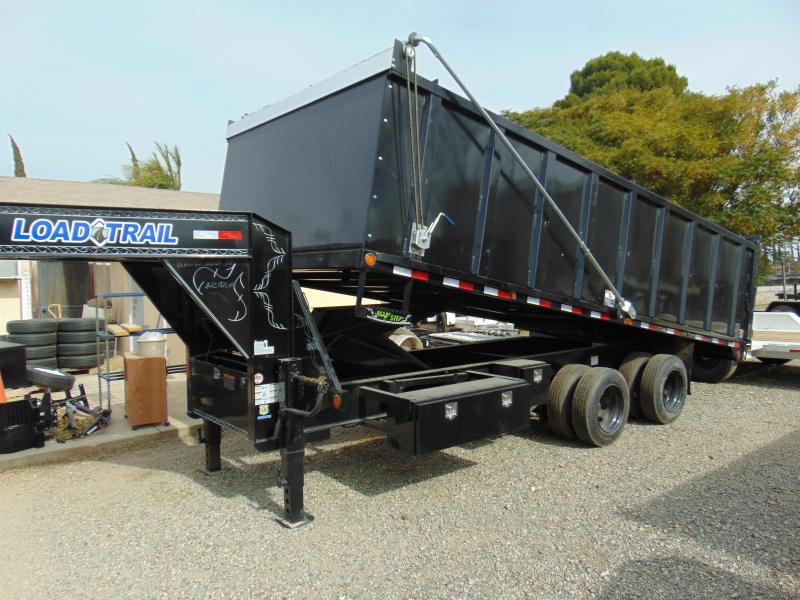 2018 Load Trail 96X20 Gooseneck Dump Trailer