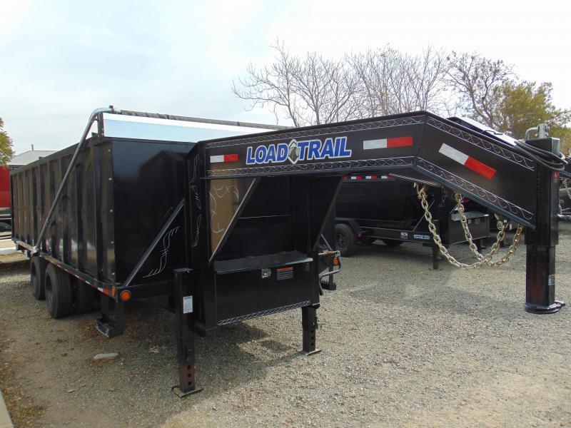 2018 Load Trail 96X20 Gooseneck Dump Trailer