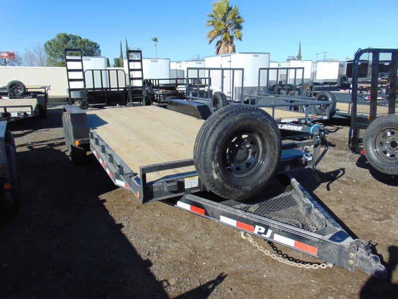 2019 PJ Trailers 83X20  Equipment Trailer