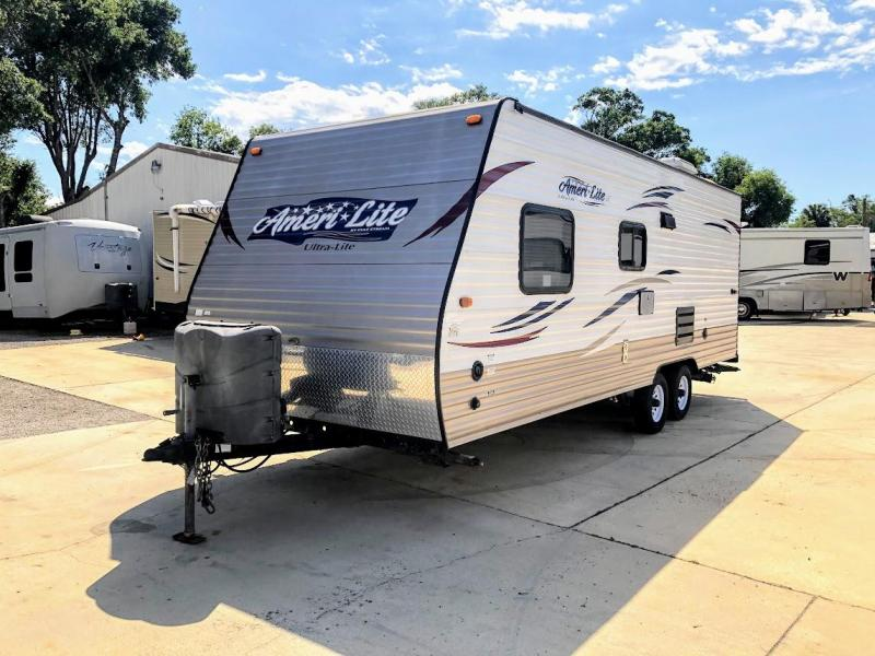 2014 Gulf Stream Ameri-lite 24BH BUNKHOUSE Travel Trailer RV