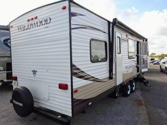 2014 Forest River Wildwood Wildwood 29FKBS Travel Trailer RV