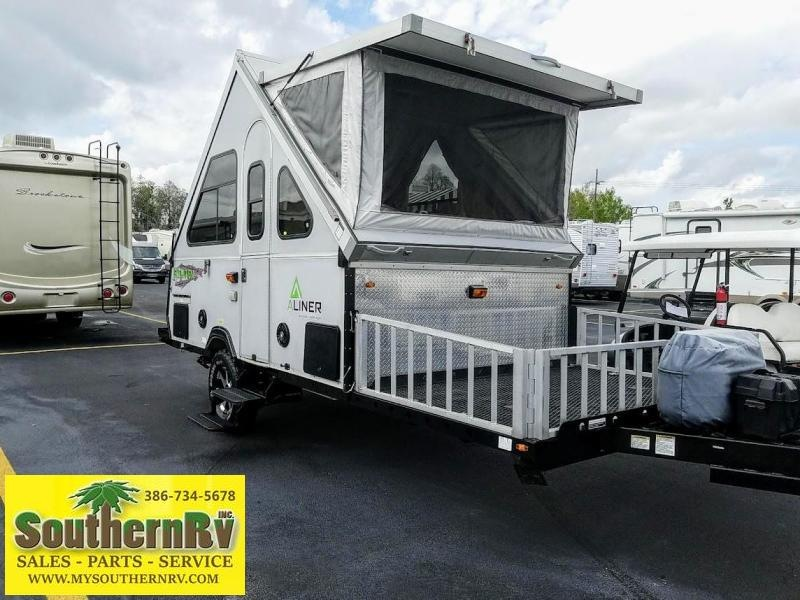 2015 Aliner Evolution Hard Side A-Frame Travel Trailer
