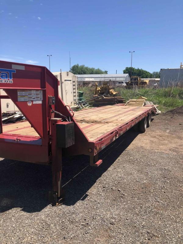 2018 Top Hat Trailers GN259 Equipment Trailer