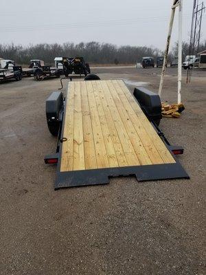 Big Tex 14TL 6.10 x 20 Equipment Trailer