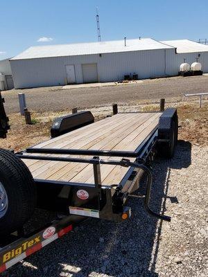 """Big Tex 14TL 83"""" x 22' Equipment Trailer"""