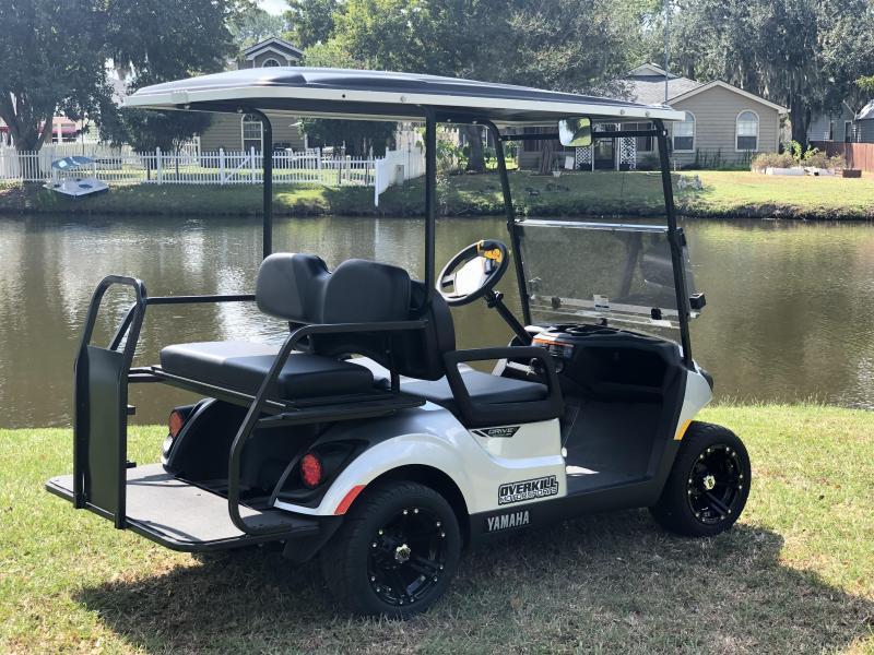 2020 Yamaha Drive2 +2 Sport Gas Golf Cart