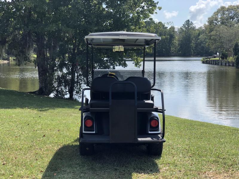 2020 Yamaha Drive 2 QuieTech EFI Gas Golf Cart 4 Passenger Silver