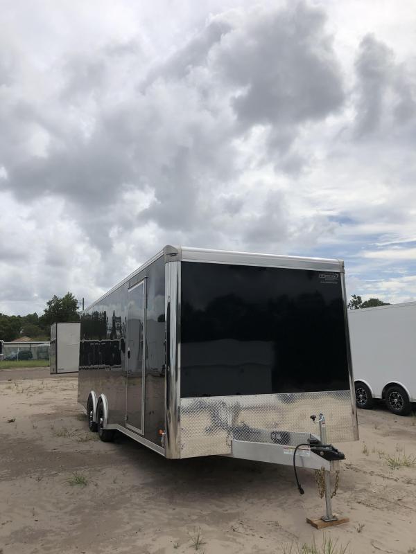 2019 Bravo 24' Silver Star Aluminum Tag Trailer W/ Full Escape Door