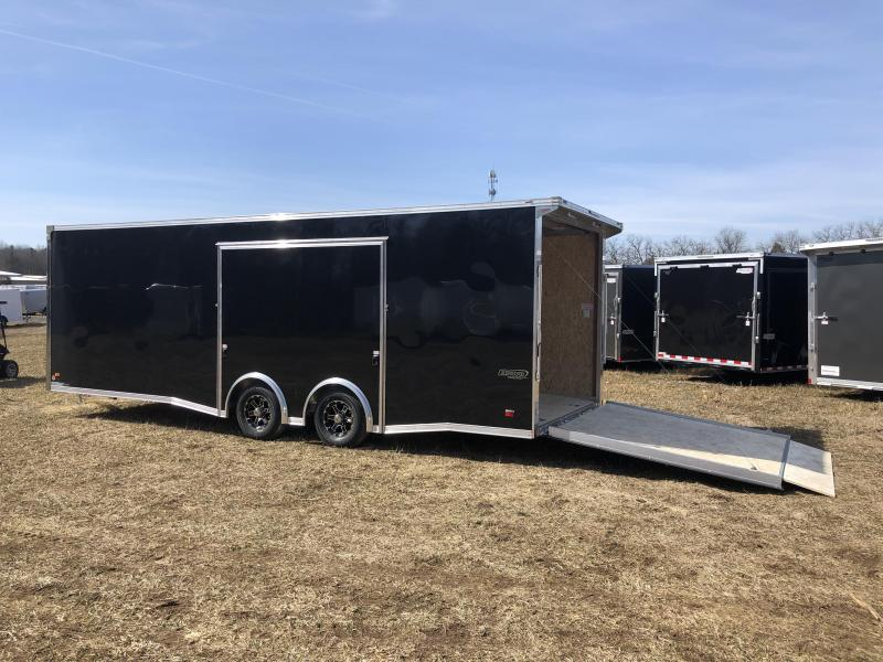 2019 Bravo 24' Silver Star Aluminum Tag Trailer W/ Full Escape Door