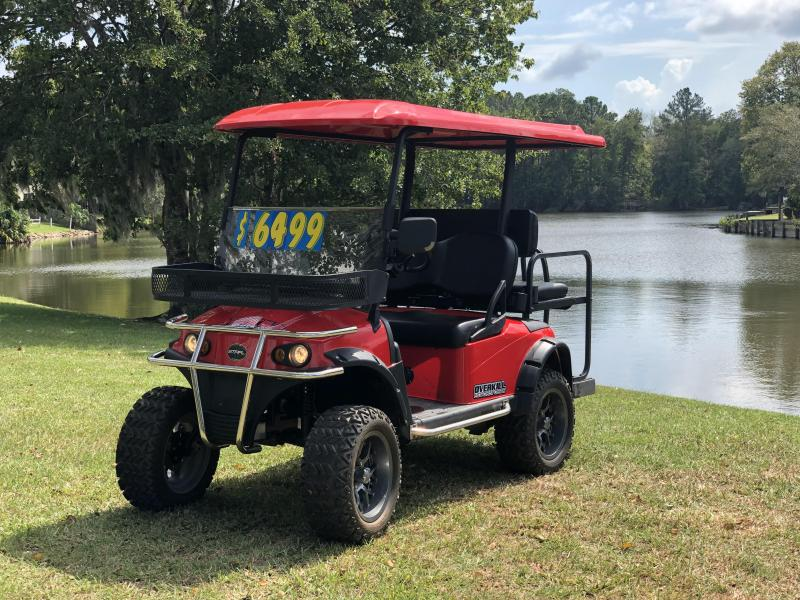 2016 Star Diablo Electric Golf Cart 4 Passenger Red