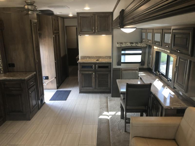 2018 Haulmark Status 45' DB Tandem Axle Super C Motorcoach