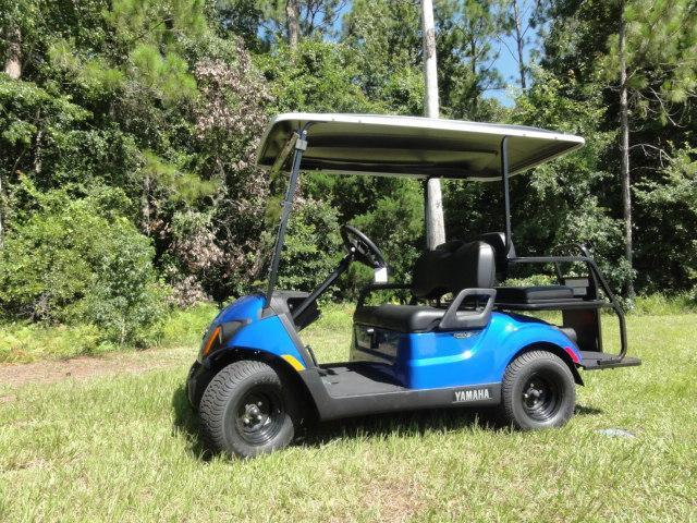 2020 Yamaha Drive 2 QuieTech EFI Gas Golf Cart 4 Passenger Blue